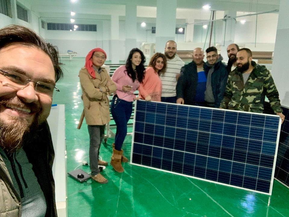 60MW full automatic solar panel production line in Hassia of Syria